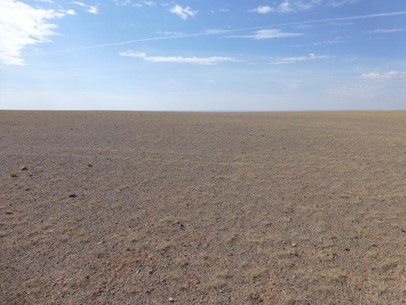Unendliche Weite in der Wüste Gobi