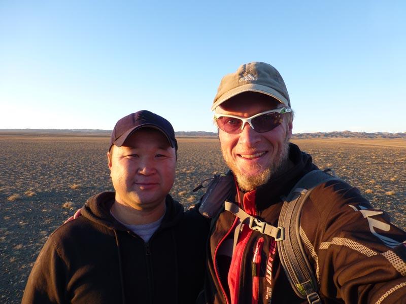 Hygi und Stefan Wüste Gobi