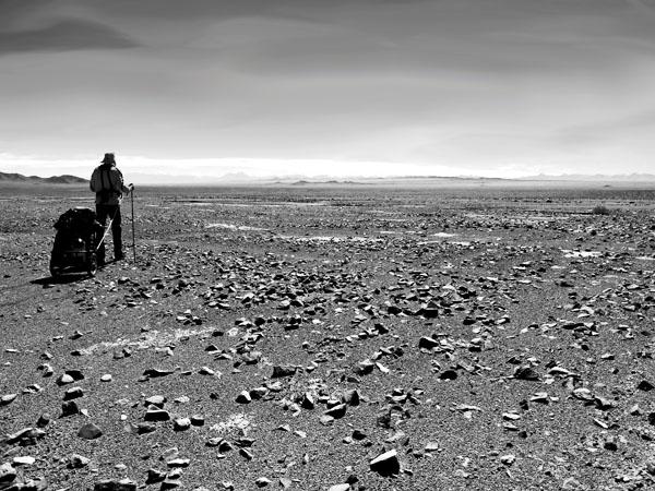Herausforderungen leben Bild Atacama Wüste